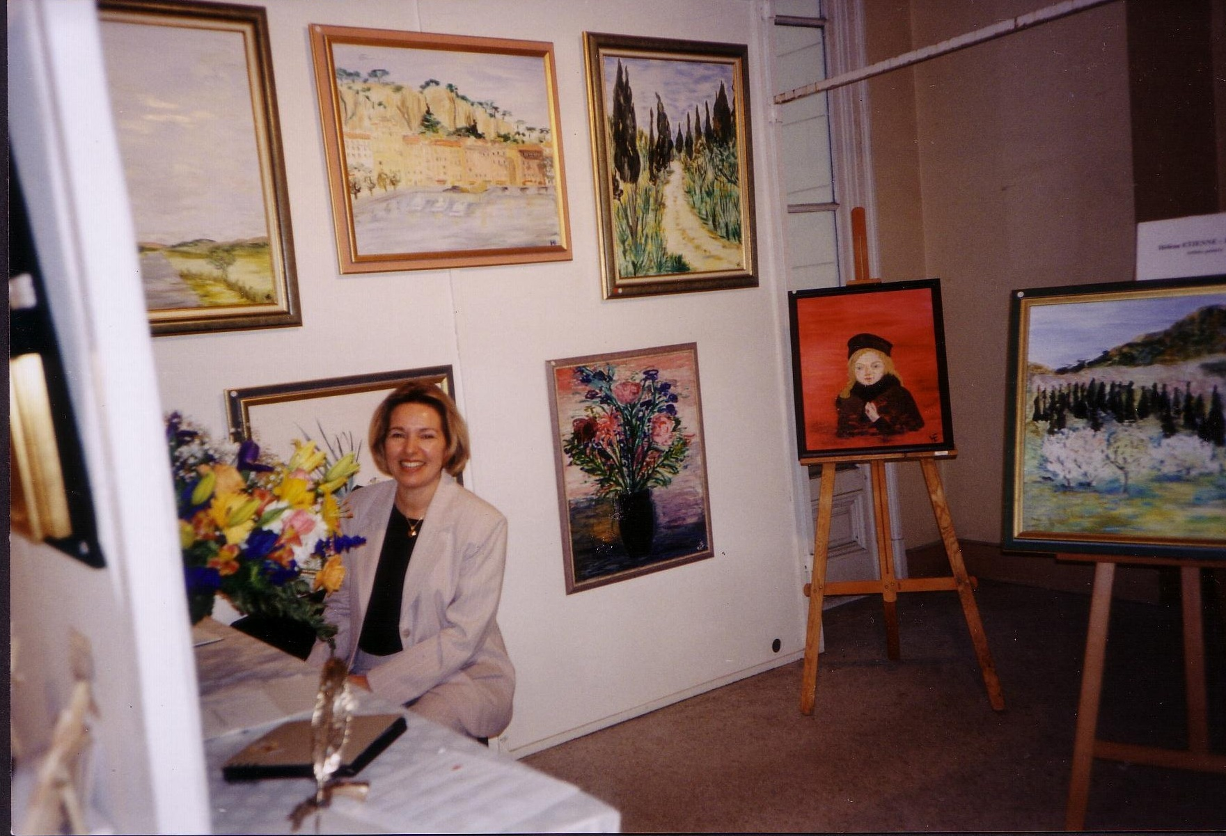 Exposition au salon de la femme menton 1997 le site d for Salon exposition